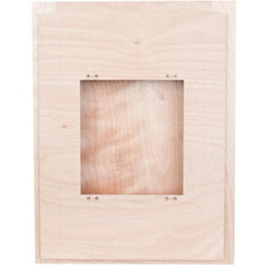 Backbox-SpeakerCraft-Birch-Wood-Sound-Enclosure-For-Seamless-FR1-(Each)