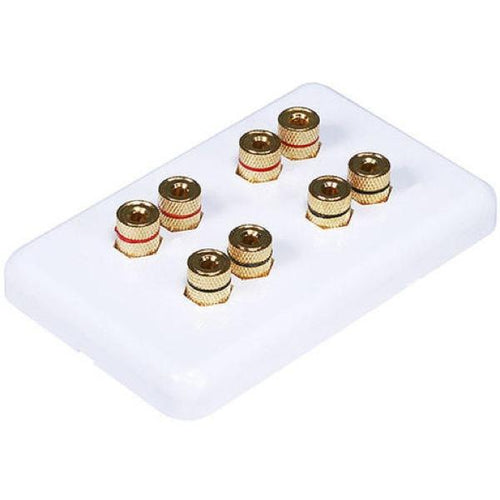 Ceiling-Speakers Double Wall plate for 2 Pairs of Speakers (Each)