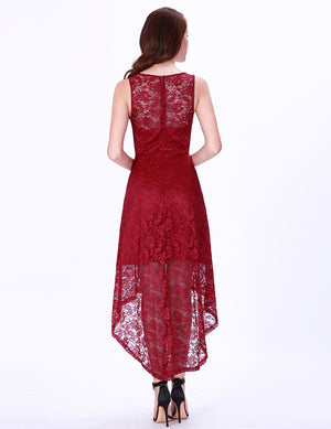 Burgundy Short Party Dress