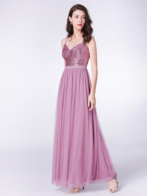 Tulle Long Charming Evening Dress