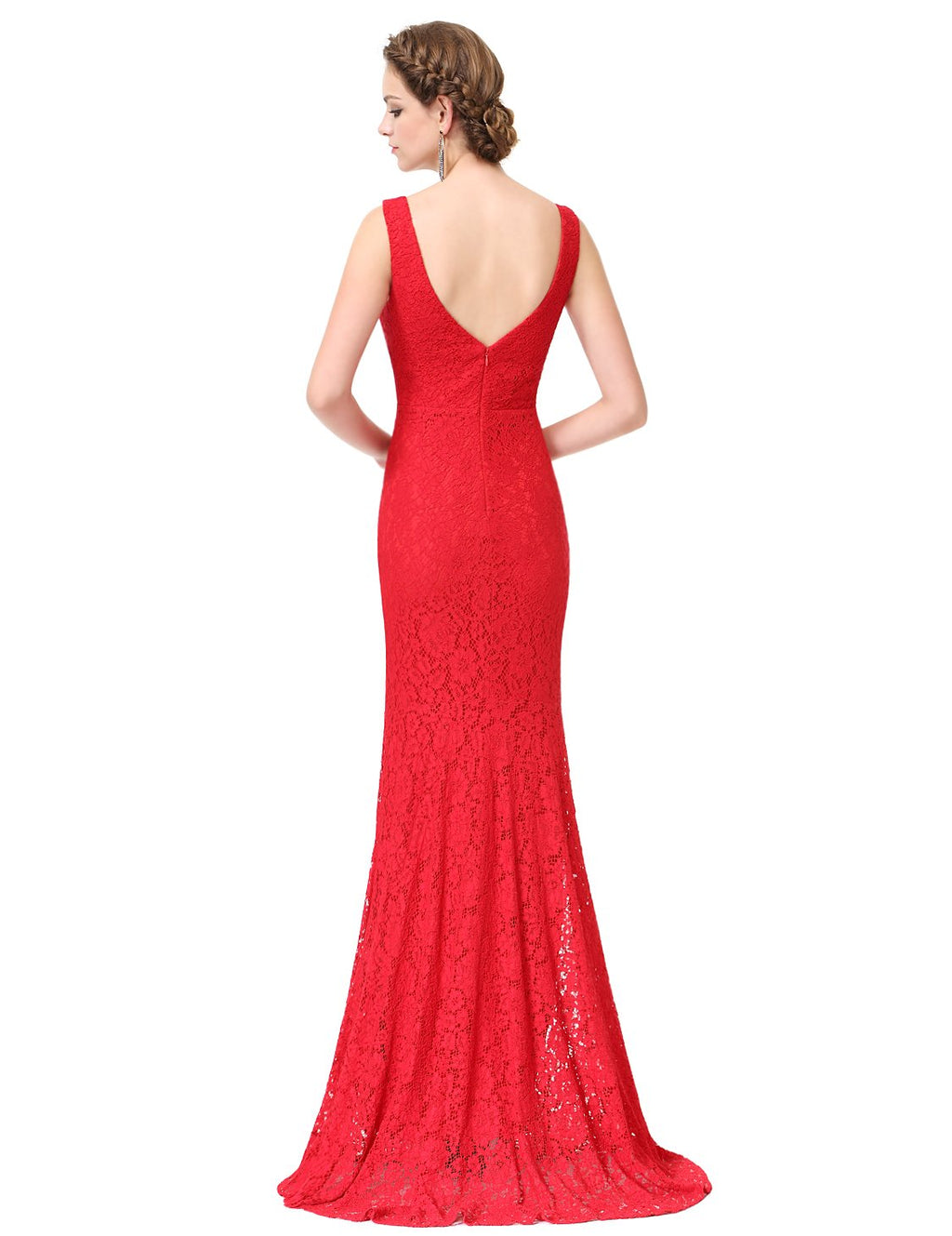 Sexy Fishtail Dress Red