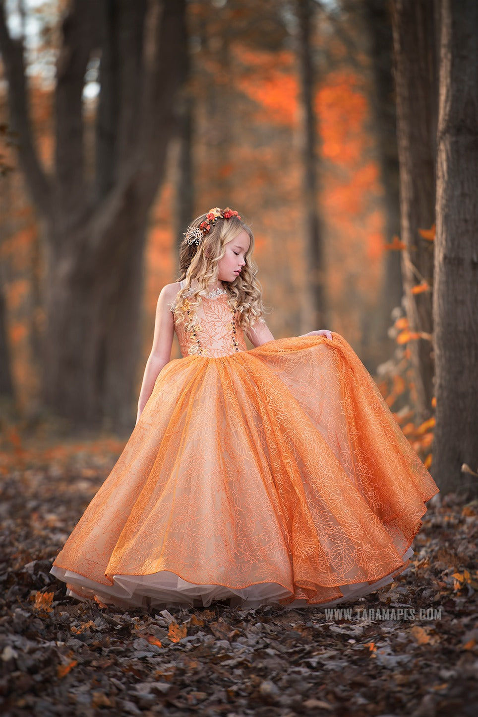 October Spark Gowns