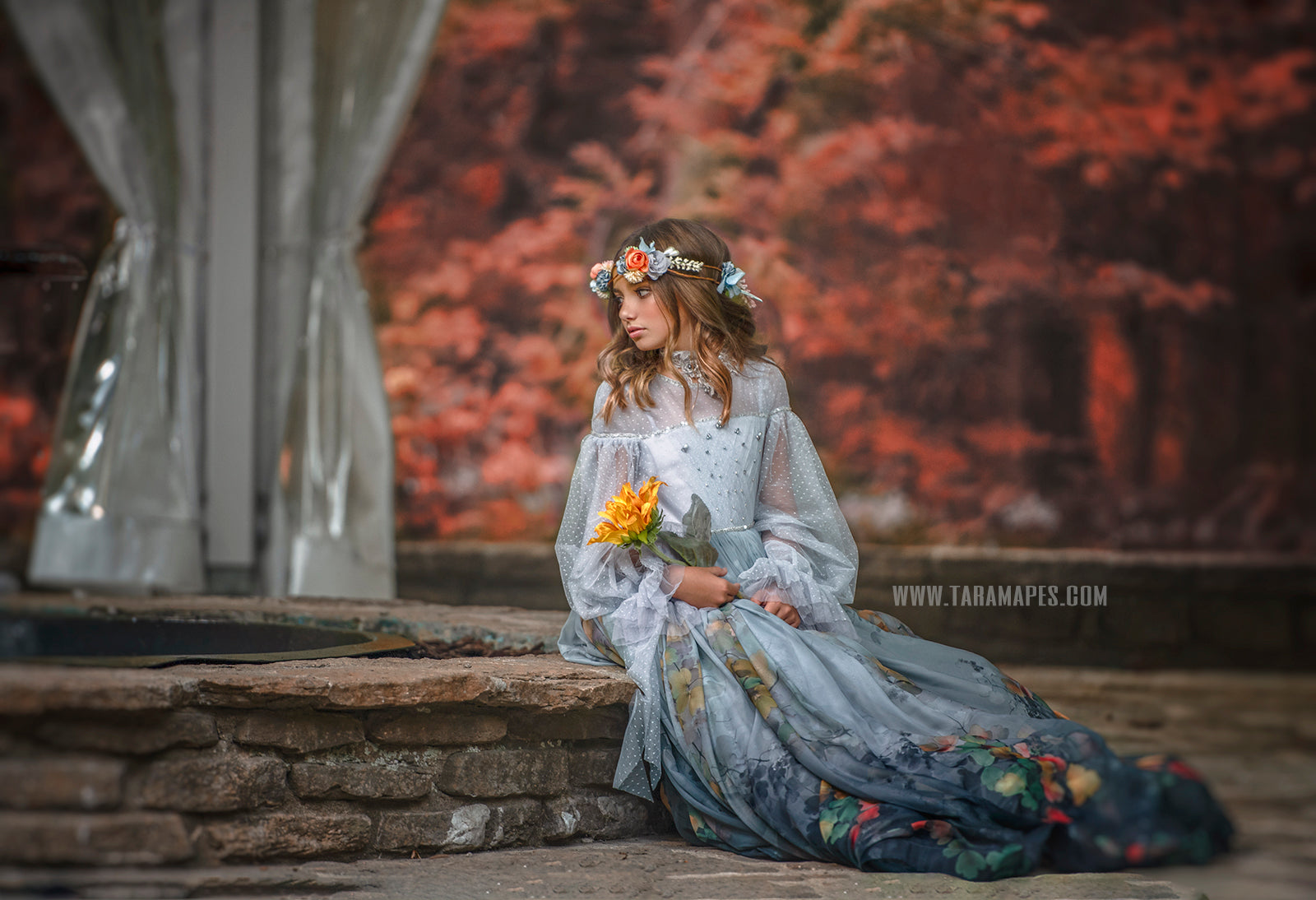 Misty Woodland Gown