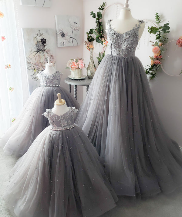 Misty Pearl Gown