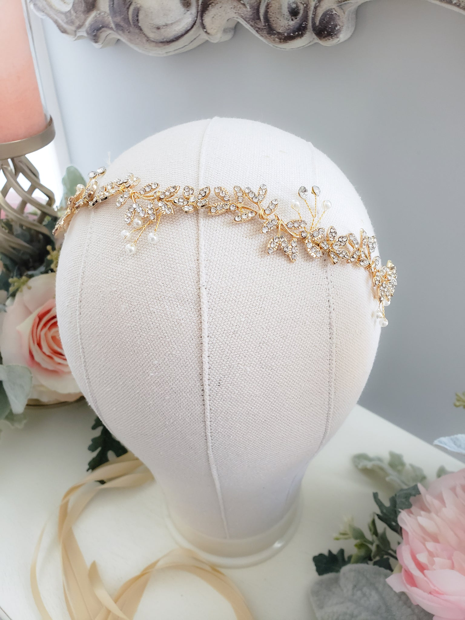 Golden Girl Headband/Sash