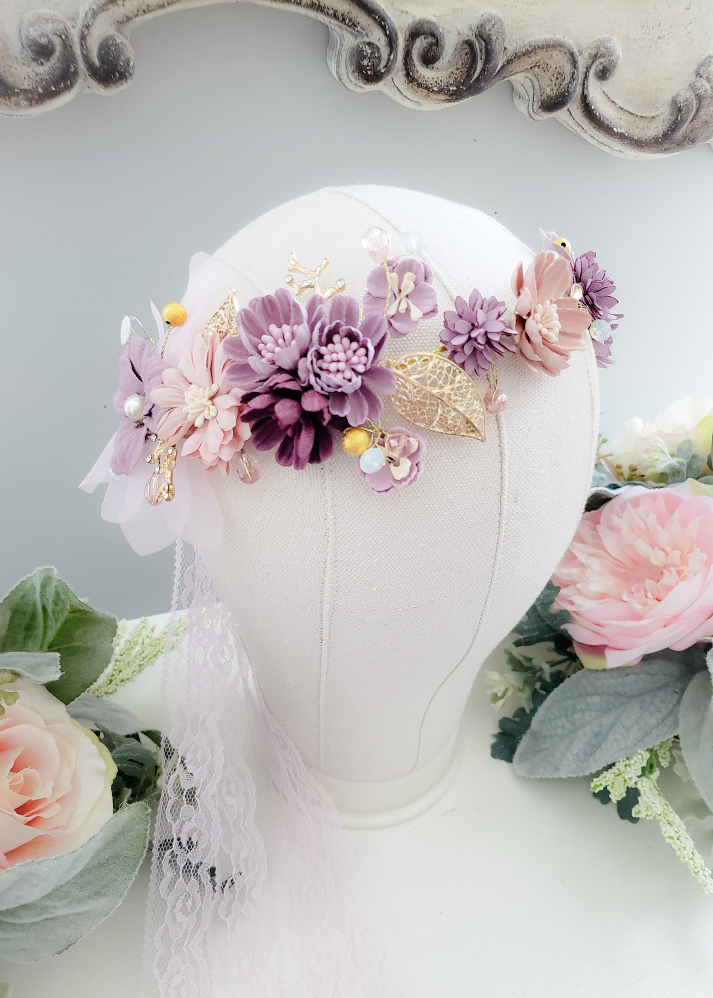 Poised Mauve Headband