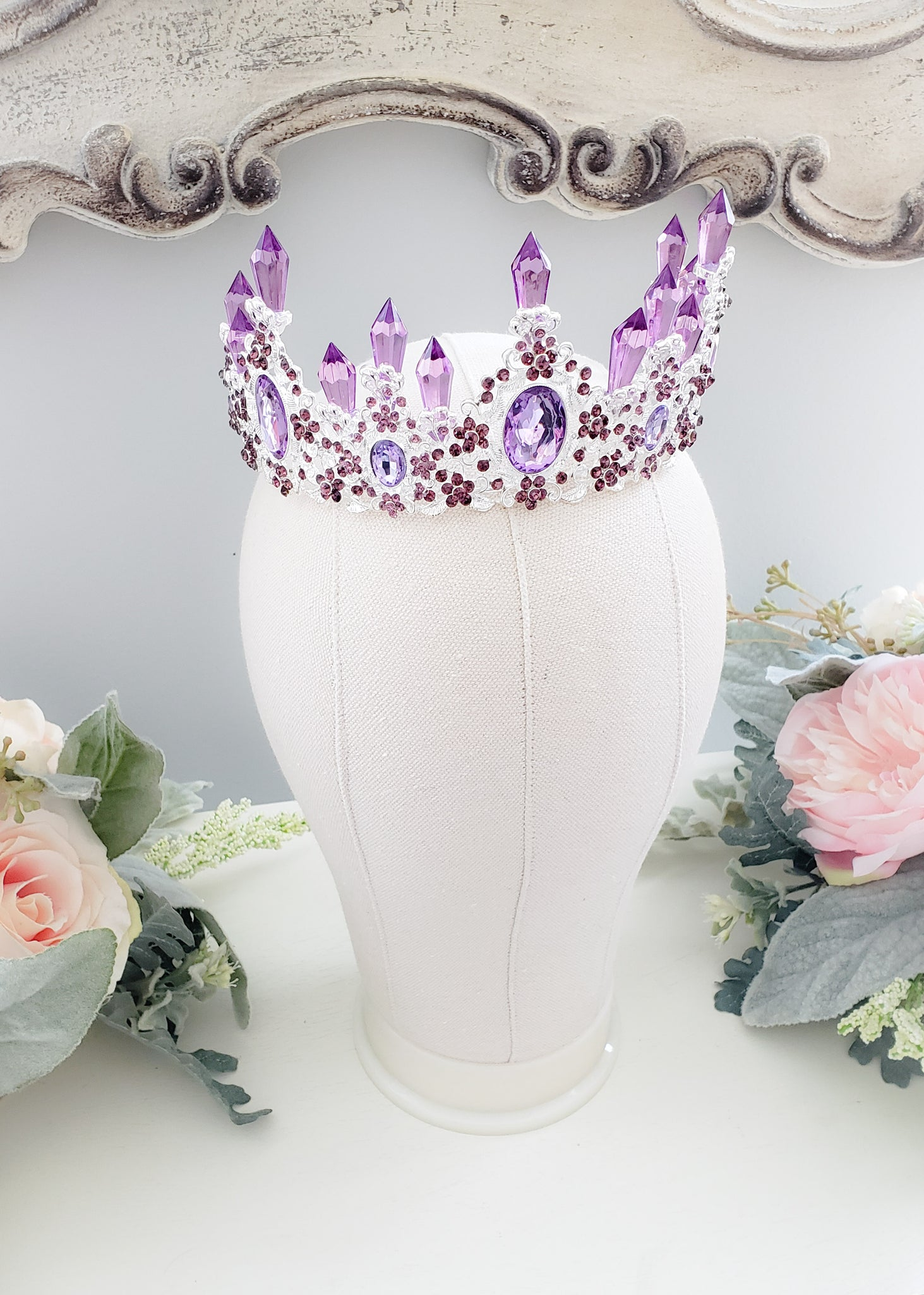 Royal Amethyst Crown
