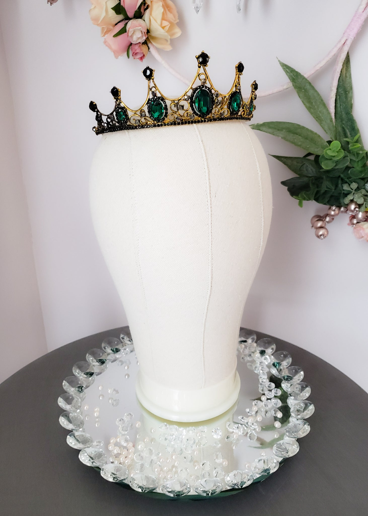Royal Emerald Crown