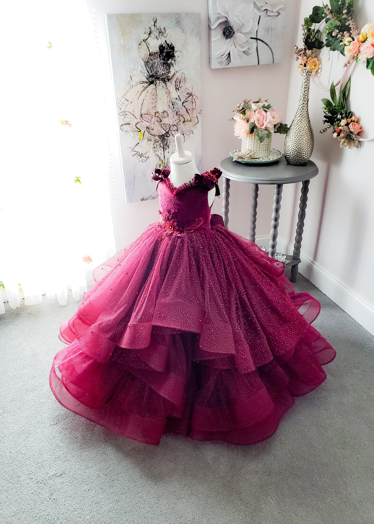Holly Berry Gown