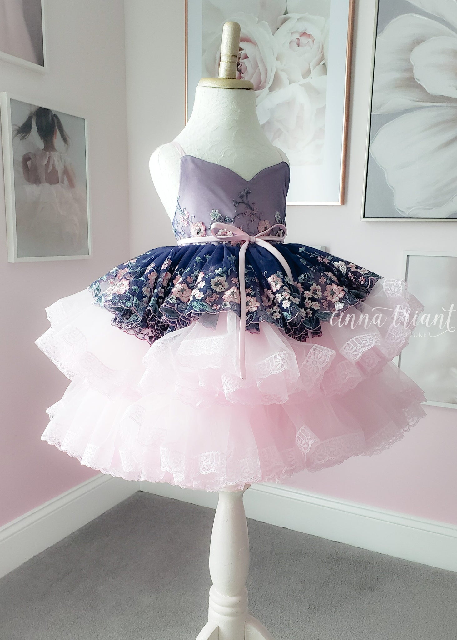 Blueberry Tart Dress