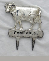 Silver Camembert Cheese Marker