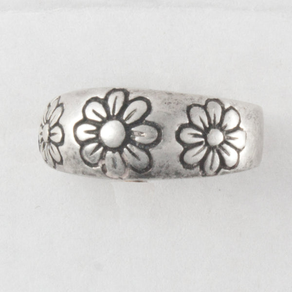 Daisy Sterling Silver Toe Ring