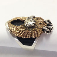 Sterling Silver Eagle Ring side