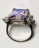 Iridescent Sterling Silver Ring