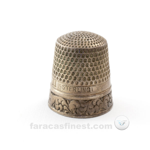 Number 11 Sterling Silver Thimble