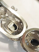 Sorrento Sterling Bracelet and Pendant Set markign