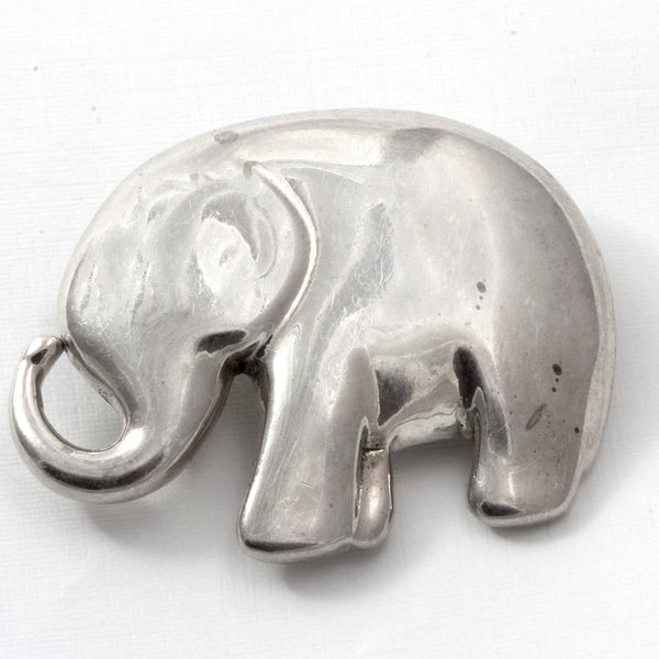 Sterling Silver 1994 Liz Claiborne Good Luck Elephant Pin