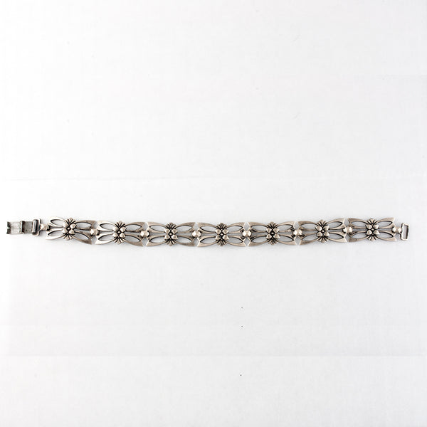 Symmetalic Bracelet Sterling Silver and 12k