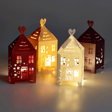 Load image into Gallery viewer, Laser cut Gingerbread Houses
