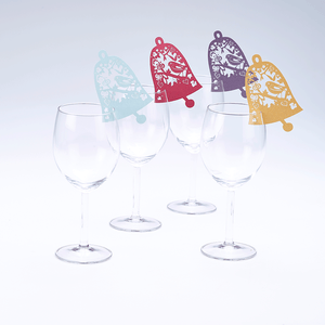 Bell Wine Glass Toppers
