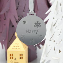 Load image into Gallery viewer, Acrylic personalised bauble