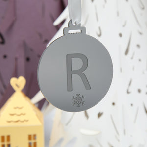 3mm Acrylic Christmas hanging Bauble