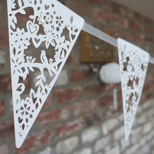 Load image into Gallery viewer, Laser cut bunting
