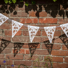 Load image into Gallery viewer, Lasercut paper bunting