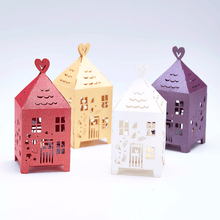 Load image into Gallery viewer, paper lasercut gingerbread houses