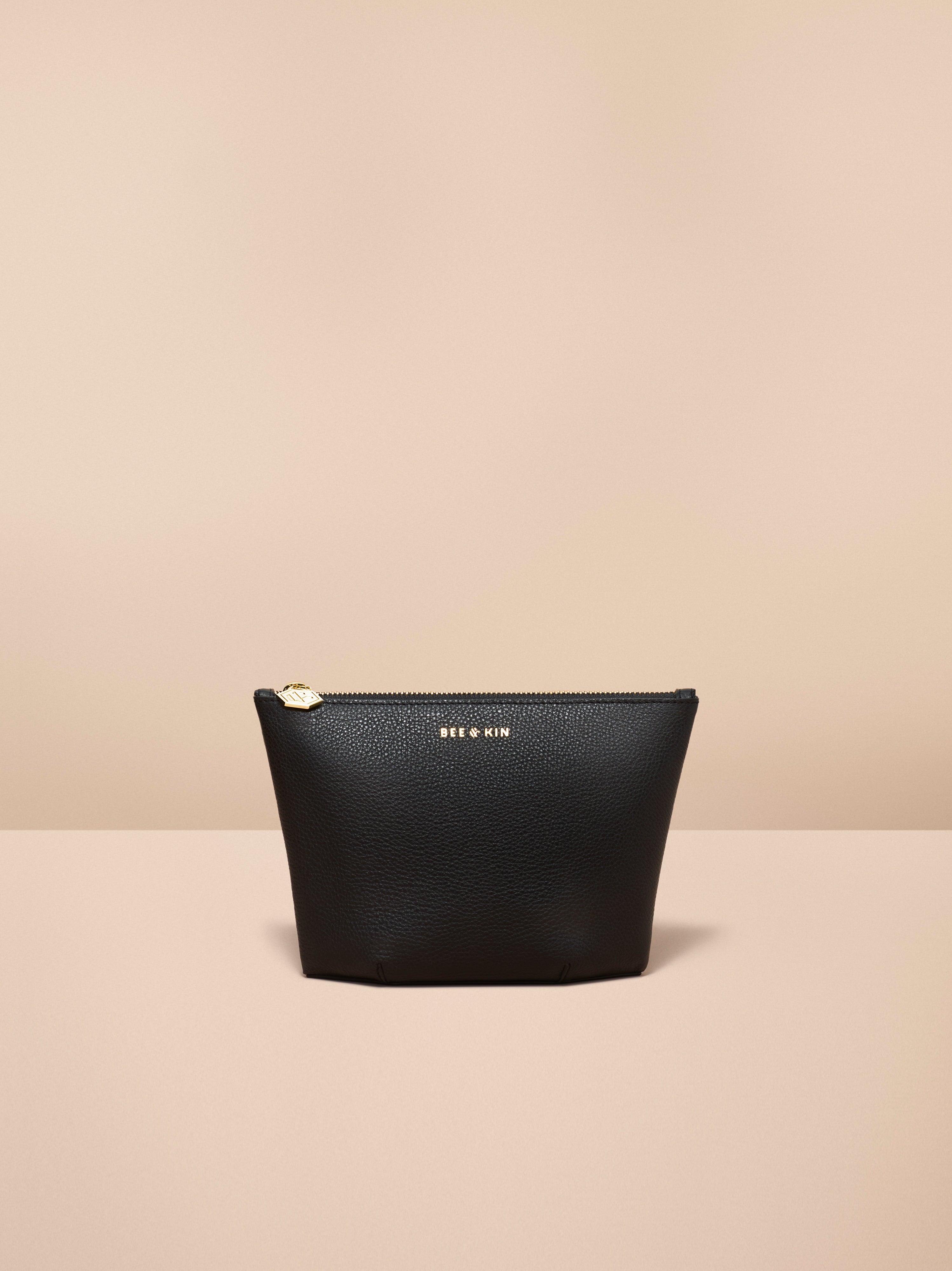 The Assistant - Black-Small Accessories-Bee-&-Kin-Italian-Leather-Tech-Forward-Handbags