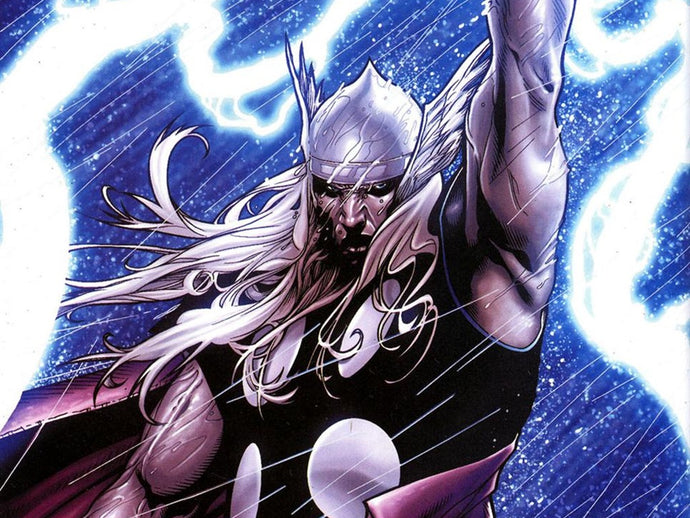 Thor, the archetype of the epic hero in comics.