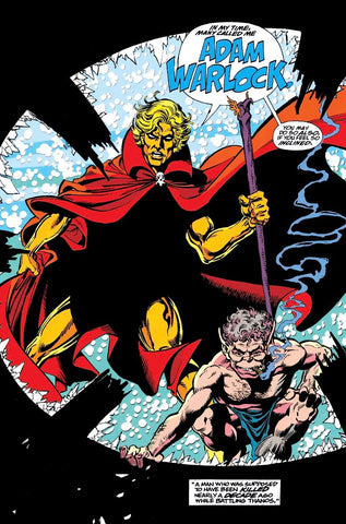 Who is Adam Warlock? Blog Posts from Animated Apparel Company. Image by Marvel Comics