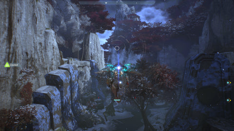 Image of Freelancer flying through the air from BioWares Anthem - Animated Apparel Company