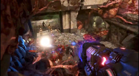 Image of Gameplay from DOOM Eternal - Animated Apparel Company