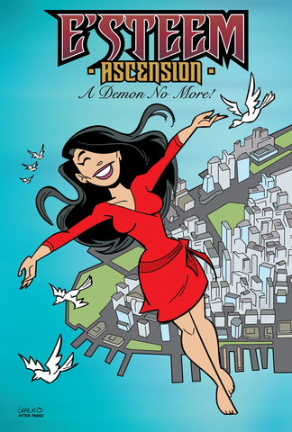 Esteem Ascension Comic book Cover - Animated Apparel Company