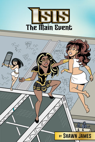 Image of the comic book cover Isis: The Main Event - Animated Apparel Company