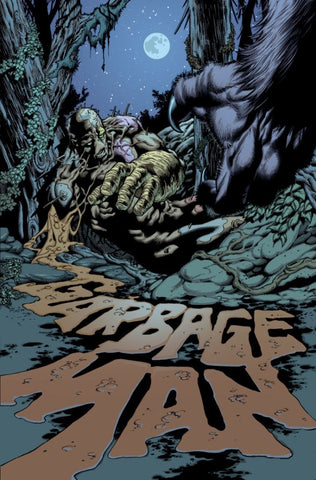 Comic book cover image of the Garbage Man by Lopresti