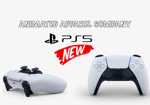 Playstation 5 Controller - New Details Revealed - Animated Apparel Company