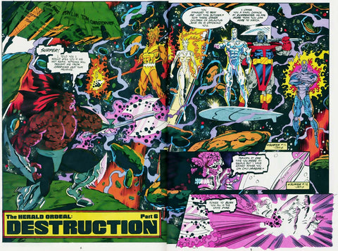 Image of the Comic Book Cover for the Herald Ordeal by Marvel Comics - Animated Apparel Company