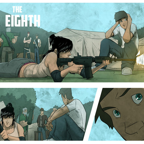 The Eighth Comic Book Review - Animated Apparel Company