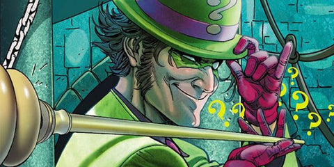 Image of the Riddler from DC Comics - Animated Apparel Company