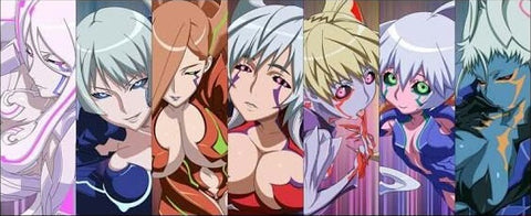 Image of several characters from the witchblade anime - Animated Apparel Company