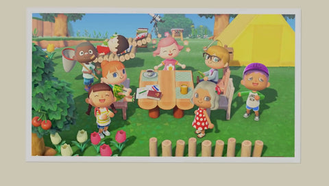 Image of game play from Animal Crossing: New Horizons - Animated Apparel Company