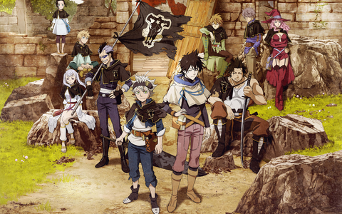 Black Clover - The Big 3 in Shonen Anime - Animated Apparel Company