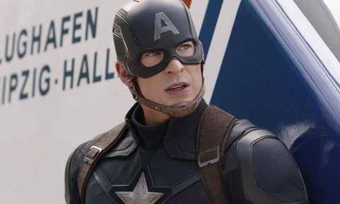 Image of Captain America from the MCU