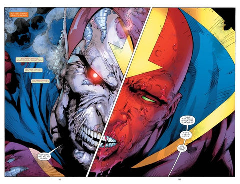 Comic book image of the Red Tornado from The Tornado's Path Comic Book