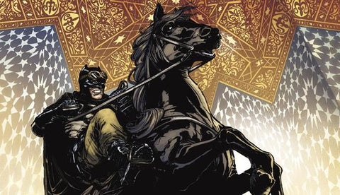 Batman Riding a Horse
