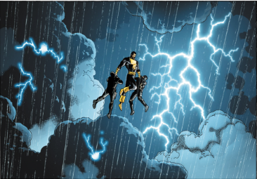 Black Adam, the anti-hero performs a hero act, and shows us his power