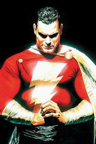 Classic Comic Book Image of Shazam I Animated Apparel Company