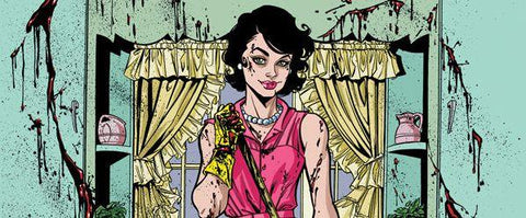 Comic book Panel of Lady Killer by Jones